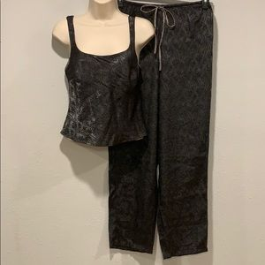 pretty Victoria's Secret pajama set, Sz XS